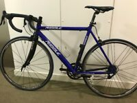 Ribble Aluminium 7005 road bike with Alpine carbon forks and Campagnolo gear set and wheels