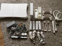 Nintendo Wii bundle with Wii Fit