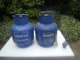 full 4.5 kg calor gas butane bottle for caravan / motorhome / bbq