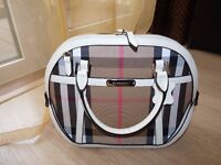 Burberry bag - brand new - fully real leather trim