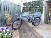 Dawes folding bike. Brand new and ready to ride