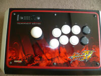 OFFICIAL MAD CATZ STREET FIGHTER IV TOURNAMENT EDITION FIGHTSTICK COLLECTORS EDITION