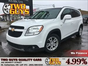 2012 Chevrolet Orlando 2LT MOON ROOF MAGS