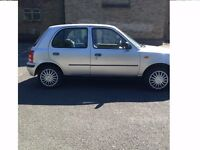 AUTOMATIC NISSAN MICRA 998 cc(1.0 LTR) 1 YEAR MOT 5 DOOR GENUINE 68000 MILE SAME AS YARIS/POLO/CIVIC