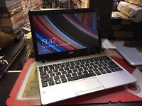 Acer Aspire V5 Netbook AMD E1-2100APU 4GB RAM 500GB HDD Radeon HD Graphics Windows 8
