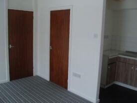 Small studio flat for rent, Neath centre. Working tenant preferred