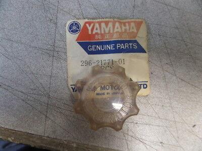 NOS Yamaha Oil Tank Clear Motor Oil Filler Cap MX175 MX125 MX100 296-21771-01