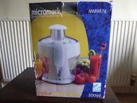 Brand New MicroMark Juicer