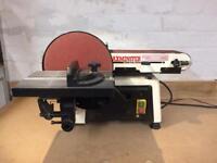 Axminster disc and belt sander