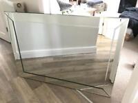 Glass beveled edge mirror