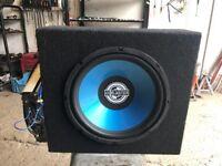 US BLASTER BASS BOX MPX 2500