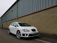 WHITE FACE LIFT SEAT LEON FR TDI CR FINANCE & WARRANTY AVAILABLE