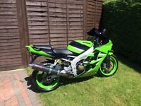 Swap Kawasaki Ninja ZX6R for 400/ 300 or 250 (which meet A2 License requirements)