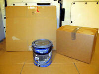 20 Cardboard Boxes Ideal for Posting, Storage or Removal of Small Items - 60 Boxes Available