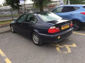 2001 bmw 318 low mileage drive okay