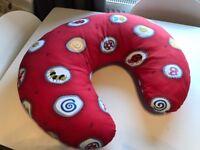 Widgey Nursing Breast Feeding Pillow in Red