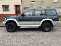 Pajero limited edition Manual swap
