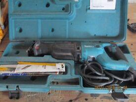 MAKITA RECIP SAW JR3060T 240V