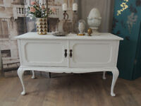 Antique shabby chic style sideboard TV table