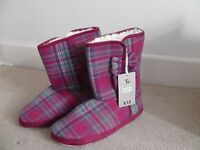 Slipper Boots - Size Medium