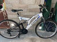 Reflex viper dual suspension bike