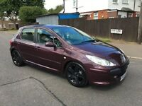 Peugeot 307 1.4 cheap insurance and tax good runner