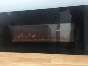 Wall Mounted Electric Fireplace - for Business or Home