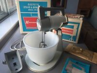 Vintage 1960s Kenwood Chefette No.325, complete kit, boxed