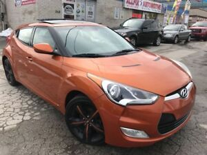 2013 Hyundai Veloster Tech w/ Navi_Backup Cam_Panoramic Sunroof
