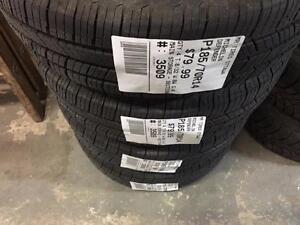 185/70/14 Michelin Defender *Allseason Tires* (On x4 bolt rims - Honda)