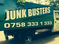 """JUNKBUSTERS """"We clear any junk, 24/7 any rubbish, within 1-2 hour"""