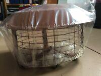 Cowl, Junior multifuel birdguard terracotta, new