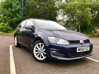 2015 (65) VOLKSWAGEN GOLF BLUEMOTION TECH 1.6 GT TDI! TOP OF THE RANGE!!!