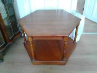 Coffee tables. Choice of two. Both solid wood and good condition