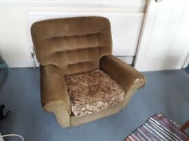 FREE Comfy and much loved armchair - collection only