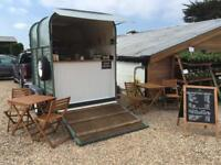 Horse Box Cafe Catering Trailer - ready made business