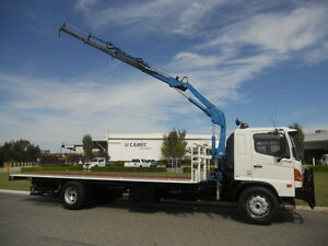 Hino FG 8 Tonne Crane Truck Welshpool Canning Area Preview