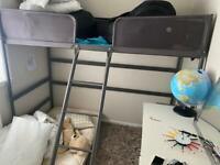 High sleeper single bunk bed