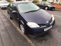 Nissan Primera 1.8 S Automatic 5dr only 825