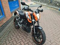 KTM Duke 125cc - Trade Sale - Part Exchange to Clear