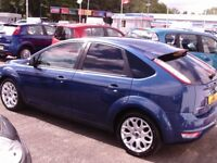FORD FOCUS ZETEC 100 5 DOOR 12 MONTHS M.O.T 6 MONTHS WARRANTY (FINANCE AVAILABLE)