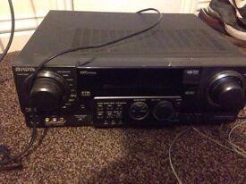 Surround sound system - 5 speakers + amplifier