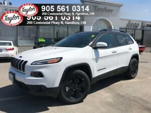 2018 Jeep Cherokee Limited 4x4 V6 w/Sunroof, Blackout Pack, Safe