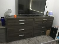 """2 x chest - GREAT PRICE AT ONLY £300 for both - Includes a LG 47"""" HD TV"""