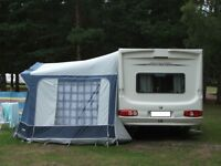 Eurovent Soleria Awning 945-980cm and ground sheet