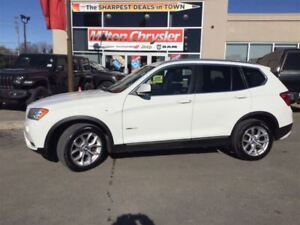 2014 BMW X3 X3|LEATHER|SUNROOF|BACK-UP CAMERA