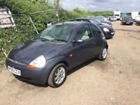 2005 FORD KA SPECIAL FULL LEATHER INTERIOR AIR CON ALLOYS COLOUR CODED IN GREY LOVELY DRIVER PX WELC