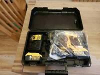 Dewalt 18V XR brushless SDS rotary hammer drill - X2 5ah batteries