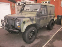 LandRover Series 3/ Defender Historic Vehicle Tax Exempt
