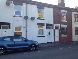 Mid terraced house in Longton. Parking, 3 bedrooms, recently refurbished.